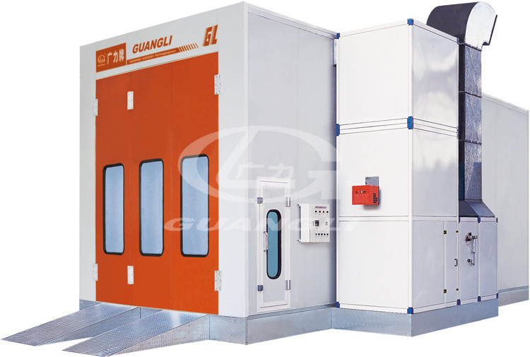 Mid-size Bus Spray Booth