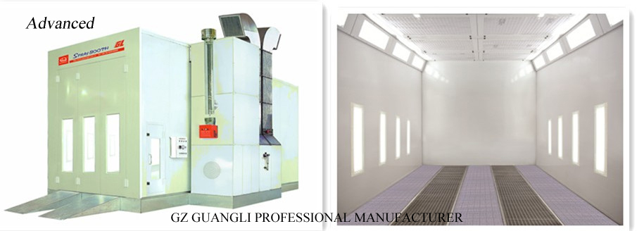 Paint Spray Booth Power Consumption