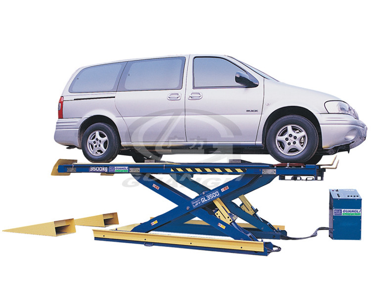 Car lifts operate