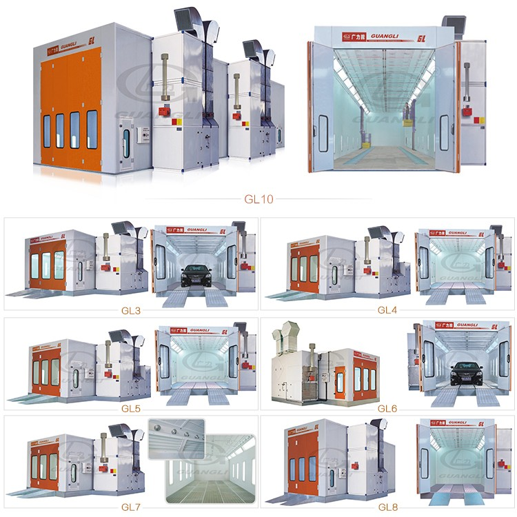 Truck Spray Paint Booth Gl10 Manufacturers Truck Spray Paint Booth