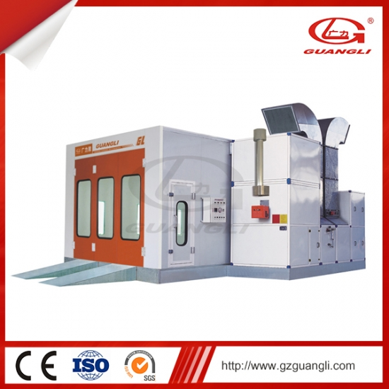 Automotive Industrial Car Spray Paint Booth Cabinet
