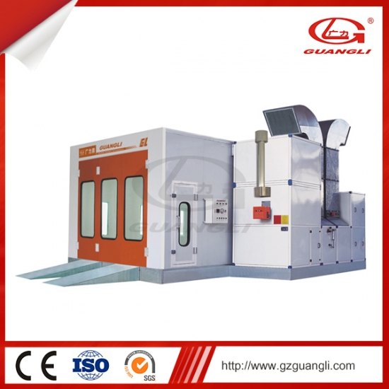 High Quality Downdraft Design Car Spray Booth