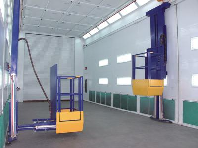 Truck Booth Man Lifts Pneumatic lift