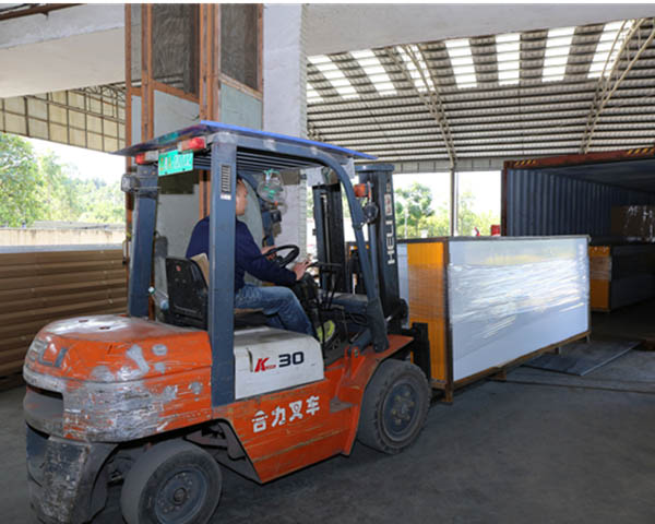 Guangli spray booths exported